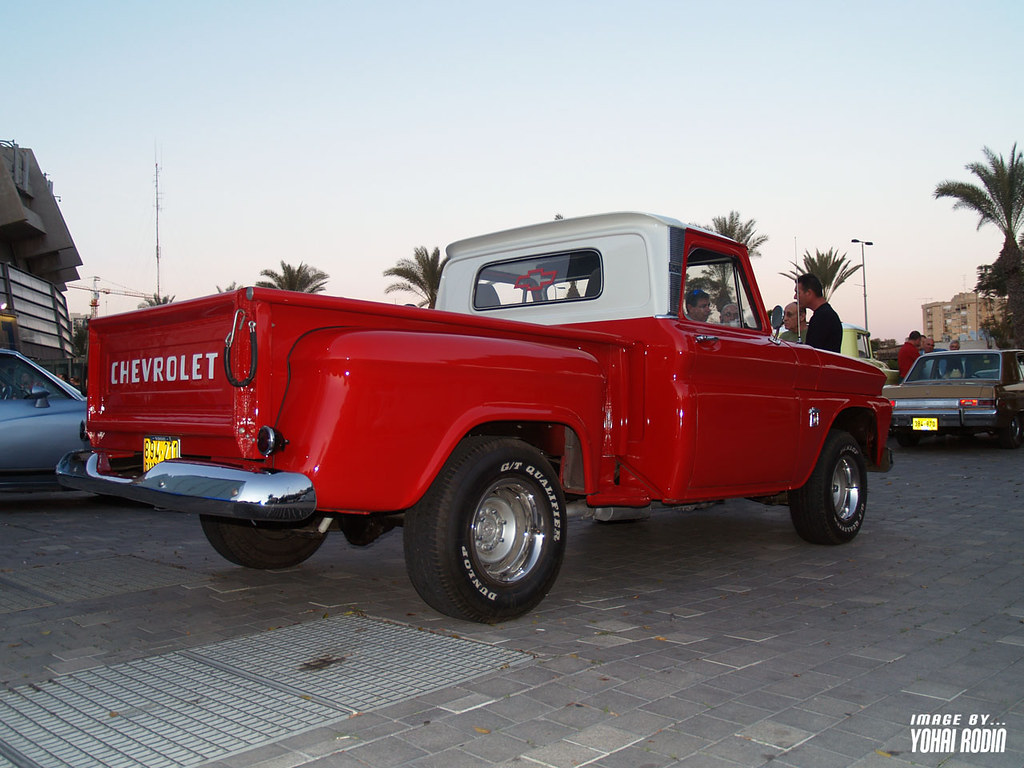 1966 Chevrolet C10 Stepside Pick Up Yohai Rodin Flickr By