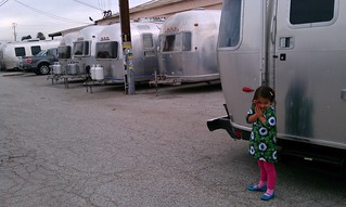 Look at all the Airstreams. | by Mali Mish