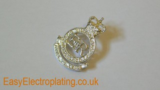 Silver Plated ER Badge | by EasyElectroplating