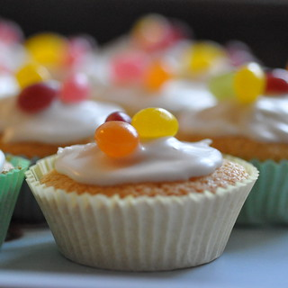 Jelly Bean topped Fairy Cakes! | by Gabludlow