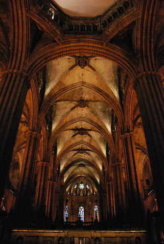 Gothic rib-vault ceiling | by thoth1618