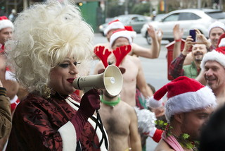 Santa Skivvies Run | by Jamison Wieser