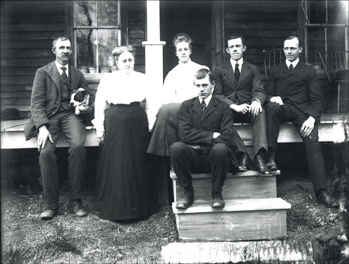 Family on Porch in Keene New Hampshire | by Keene and Cheshire County (NH) Historical Photos