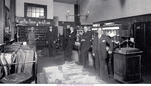 Wakefield, MA Post Office - early 1900s | by Lucius Beebe Memorial Library