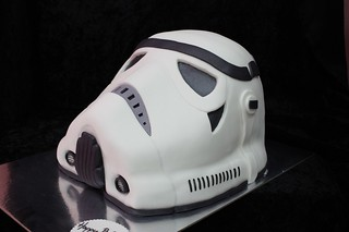 Stormtrooper helmet cake | by The House of Cakes Dubai