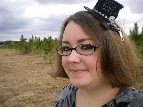 Me in a tiny top hat | by shaebay