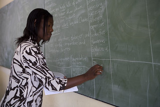 Ms. Junias, an english teach at Oshigambo High School | by World Bank Photo Collection