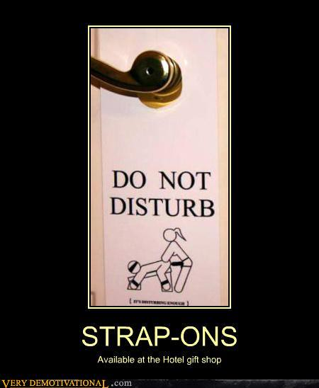 Demotivational Posters Strap Ons By Koixo