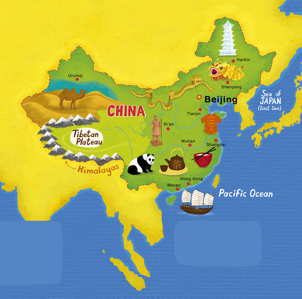 Map of china client scholastic linzie hunter flickr map of china by linzie hunter gumiabroncs Image collections