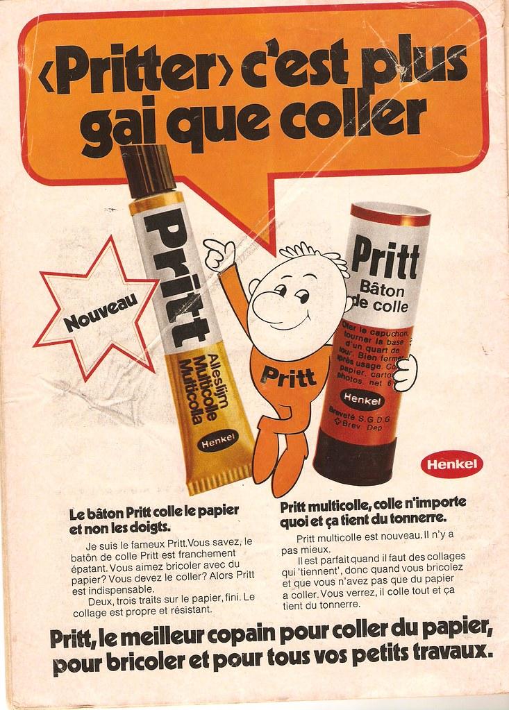 Ikea Le Papier publicité pritt 1972 lol ikea flickr