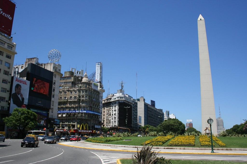Obelisco - Plaza de la República | San Nicolás | Buenos-Aires