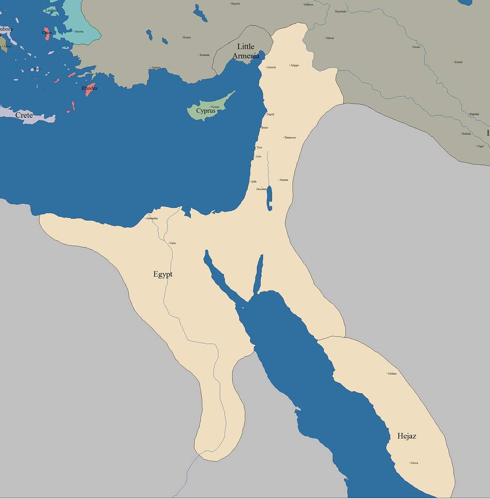Egypt under the Caliphate and Ottoman Rule (646 to 1800)