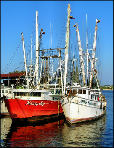 Shrimp boats all rights reserved for Fishing jobs in florida