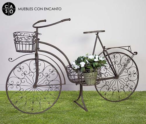 Bicicleta forja muebles con encanto flickr - Muebles con encanto ...