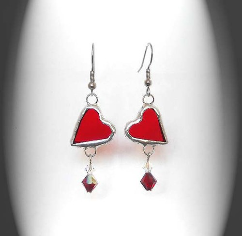 how to make stained glass earrings