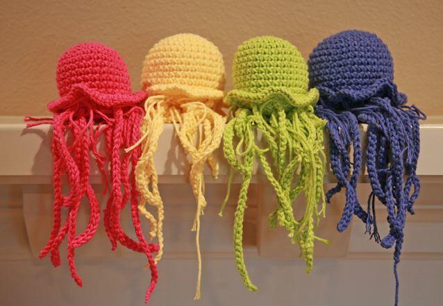 Amigurumi Jellyfish : Amigurumi jellyfish don t ask why now what i have those u flickr