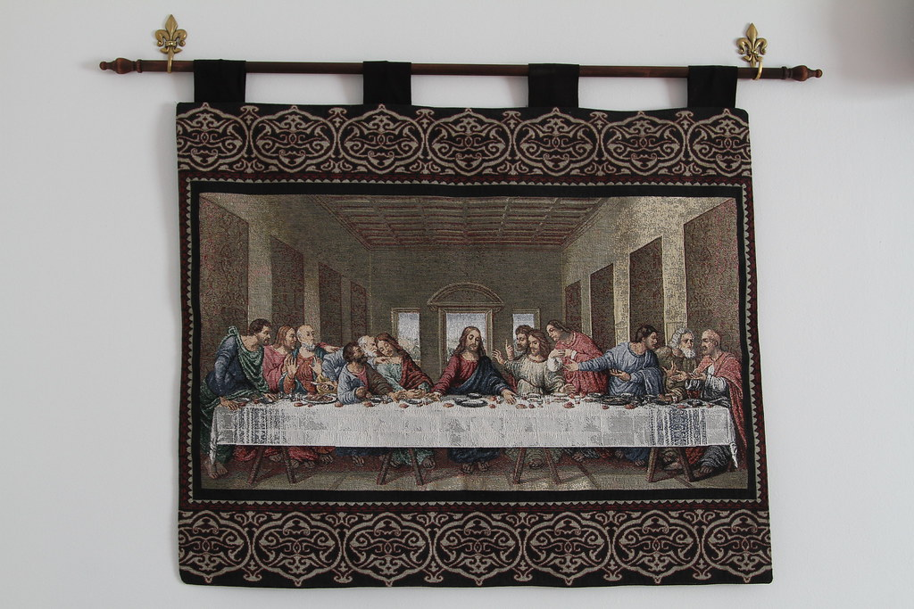 Dining Room Last Supper Tapestry Jim The Photographer Flickr