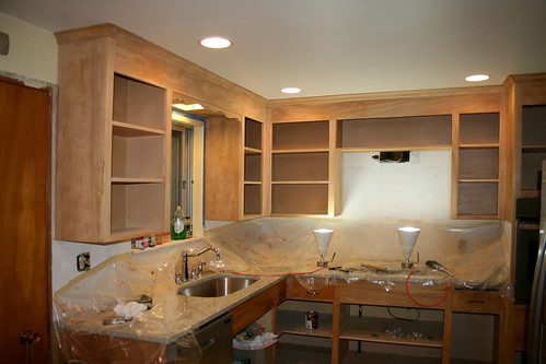 Refinishing Kitchen Cabinets Befote After Details