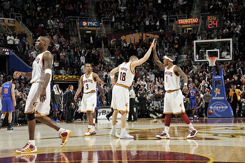 Cavs Celebrate Win Over Knicks | by Cavs History