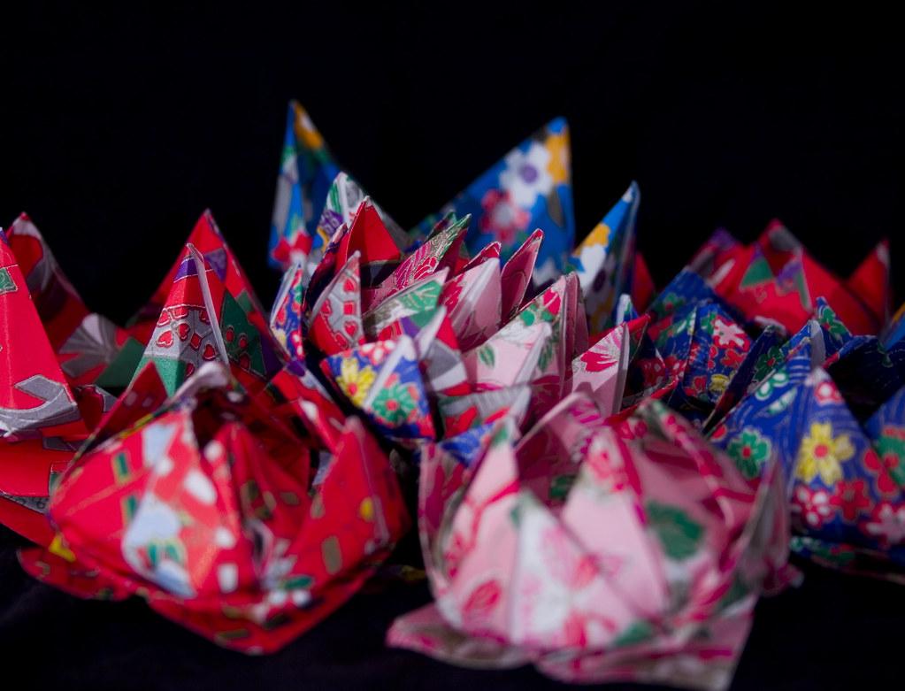 Origami Lotus Flowers