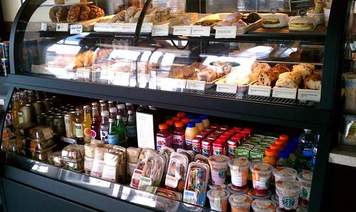 Starbucks South Loop Chicago Illinois Food Display