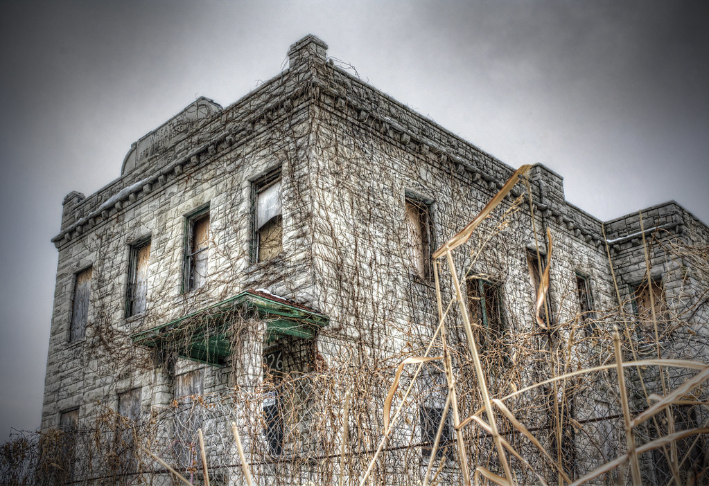 Haunted Assylum By Cassaw Creative