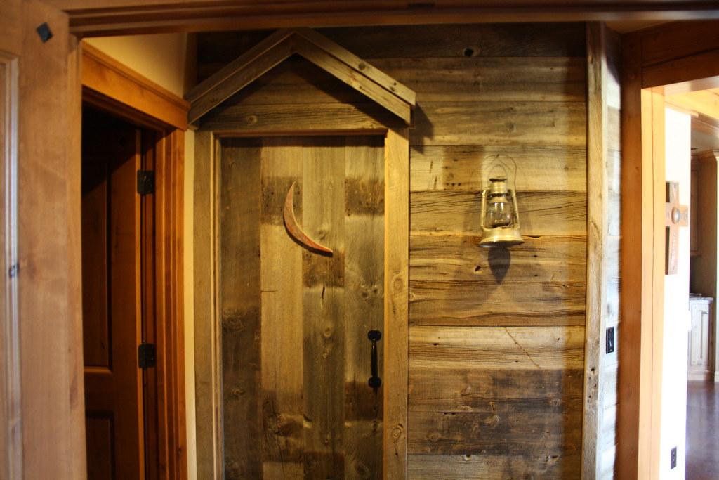 ... The Double Cross - (Outhouse) Bathroom Door | by Riverbend Timber Framing & The Double Cross - (Outhouse) Bathroom Door | Accurately resu2026 | Flickr