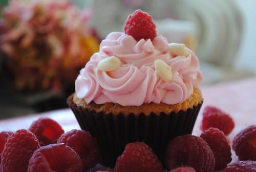 Fresh Raspberry Filling Cake Recipe