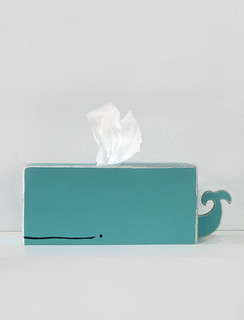 whale tissue holder | by the style files