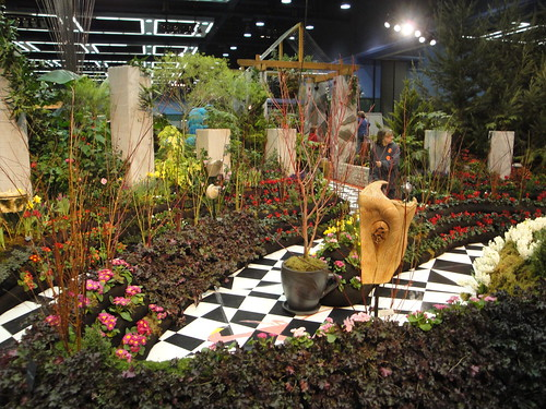 Alice in Wonderland Checkerboard Paths | by RHR Horticulture
