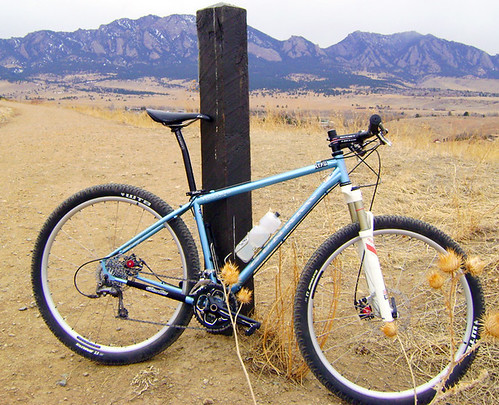 Rock Hound Against the Flatirons by Boulder, Colorado | by Gunnar Cycles