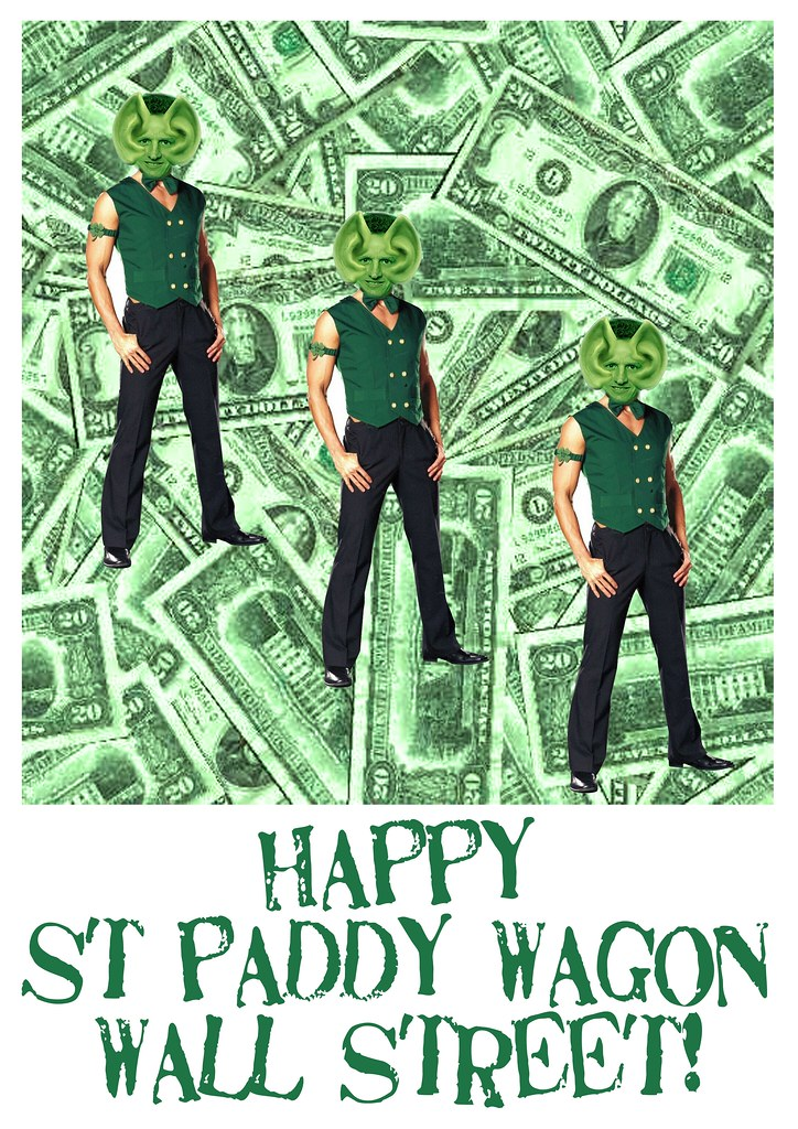 HAPPY ST PADDY WAGON