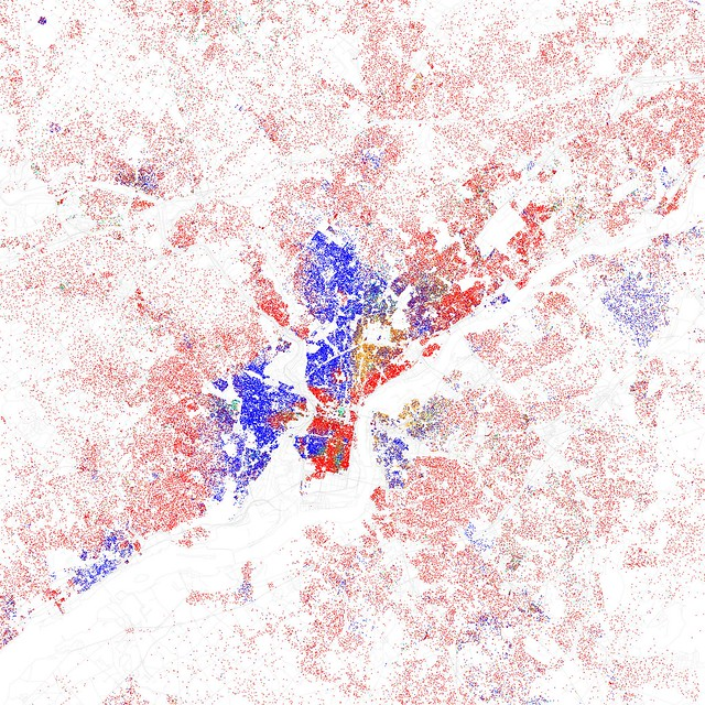 Race And Ethnicity Flickr - Us ethnicity map