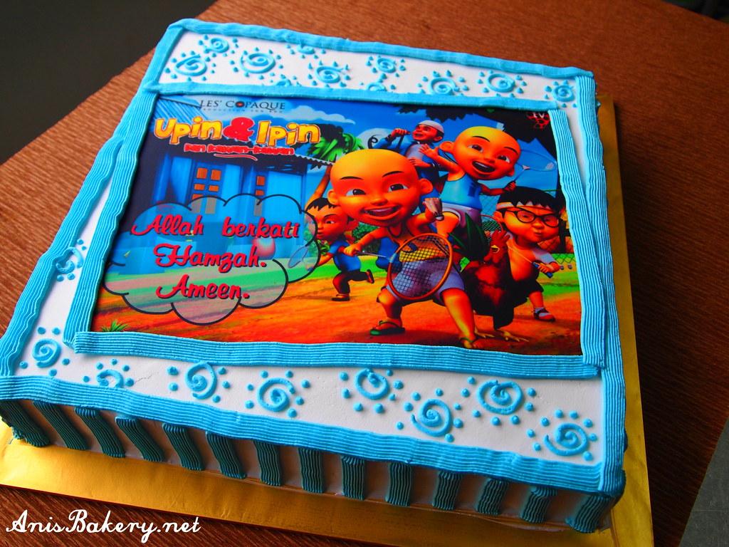 upin ipin birthday cake Facebook here wwwfacebookcom Flickr