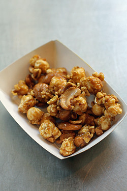 cashew caramel corn | by David Lebovitz