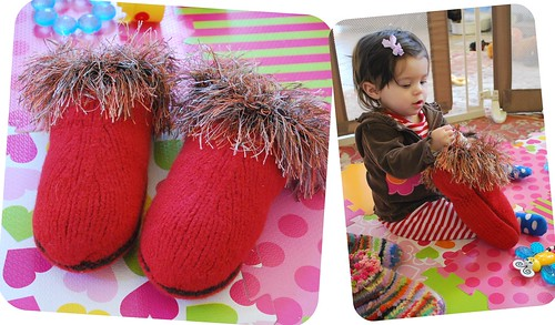 Picnik collage mum's slippers