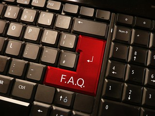 Frequently Asked Questions - F.A.Q - FAQs on Keyboard | by photosteve101
