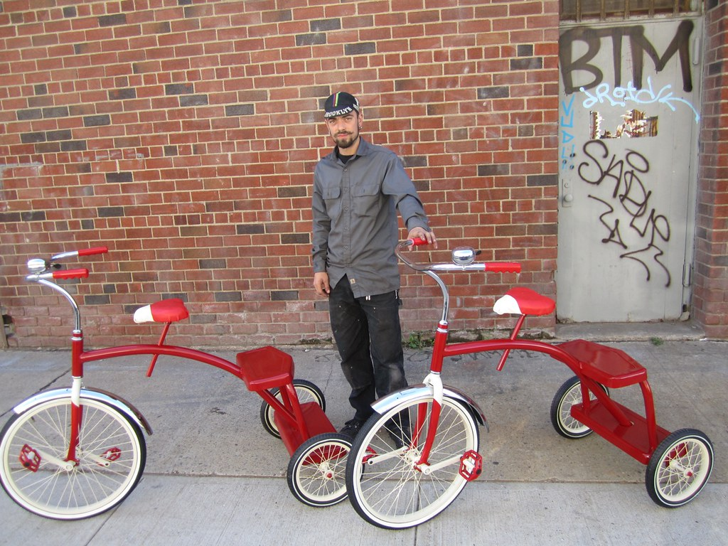 Radio Flyer Trike Replica- Adult | Porter Cycles was commiss… | Flickr