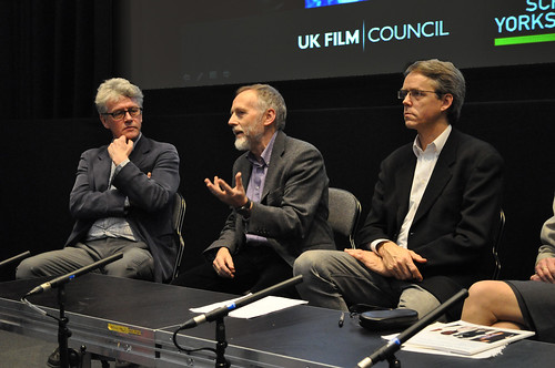 The panel at Beyond the Box Office | by Strategic Development @ the BFI