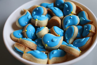 Tiny Bluebird Cookies | by Three Ghosts