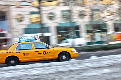 New York City Taxi (Gentlemen's club ad) | by joao lopes jr