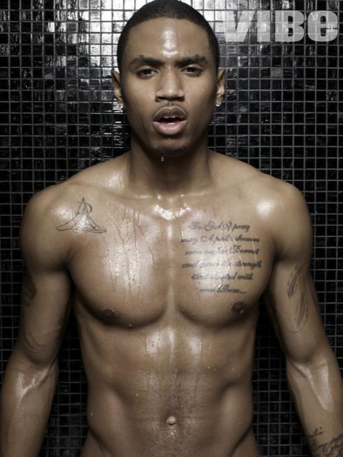 naked Trey songz