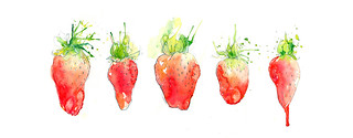 Strawb Line | by Amy Holliday