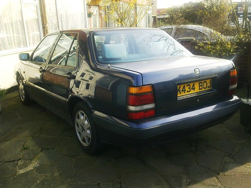 lancia thema turbo 16v ls better built than the fiat. Black Bedroom Furniture Sets. Home Design Ideas