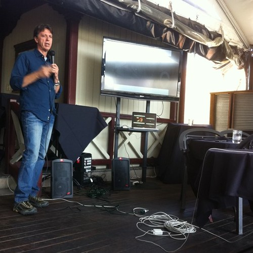 Tim Kring talks at #SXSW | by stevegarfield
