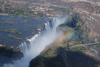 Helicopter over Victoria Falls, Zimbabwe | by David & Cheryl M