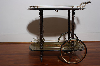 Vintage Italian Tea Serving Cart $300 | by CastawayVintage