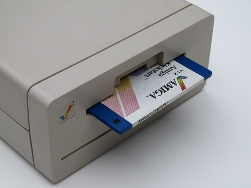 The Amiga 1010 3.5 External Disk Drive | by moparx