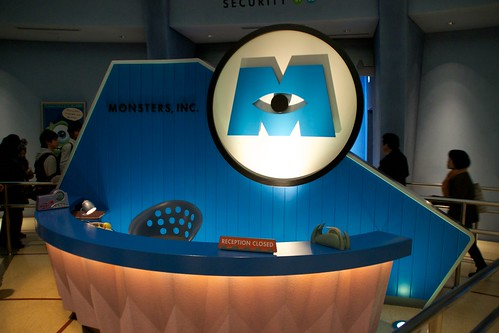 Welcome to Monsters, Inc. | The reception desk at Monsters ...
