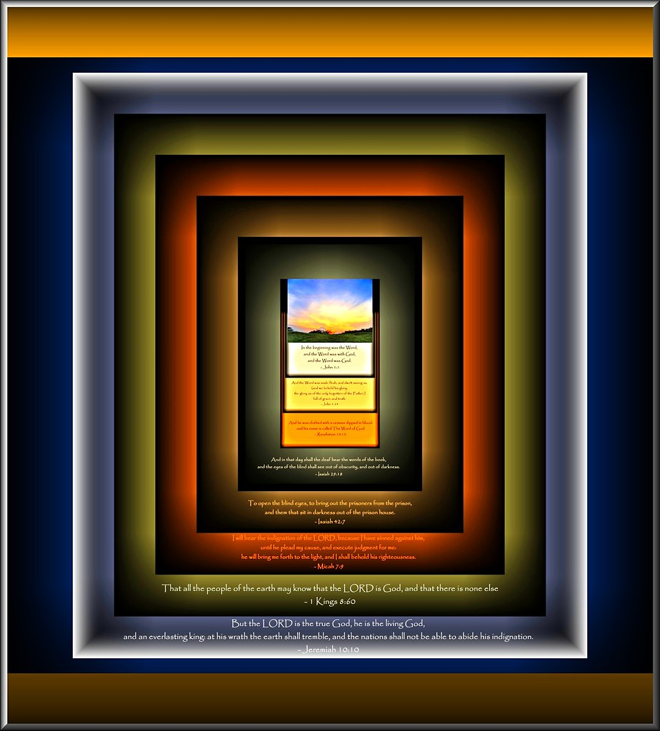 Windows to know our Living God, and His Words | In the begin… | Flickr
